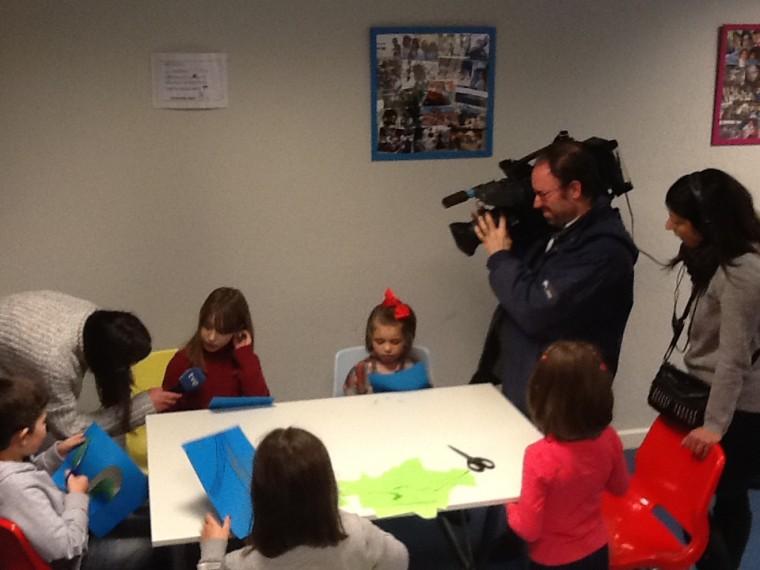 Entrevistando a nuestras niñas