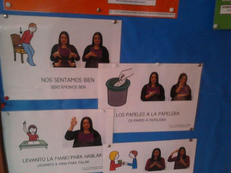 TODA LA INFORMACION ESTA EN LENGUA DE SIGNOS