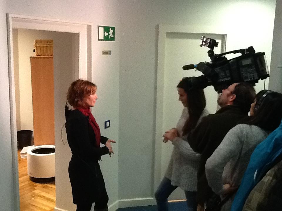 Susana miembro de la junta hablando de Ulertuz para España directo